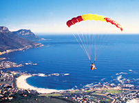 Paragliding From Lions Head